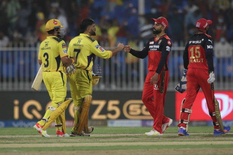 IPL : बैंगलोर को हराकर टॉप पर चेन्नई